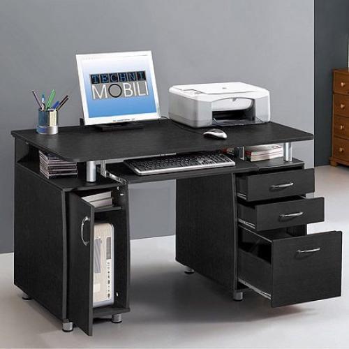 Techni Mobili Super Storage Computer Desk Espresso Tradepongo