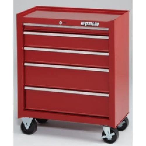Red 5 Drawer Tool Cabinet