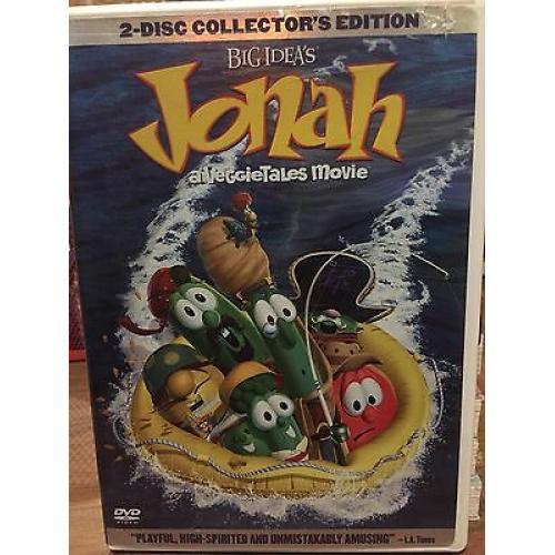 Jonah - Big ldea's full-length, animated, film music,laughs DVD set