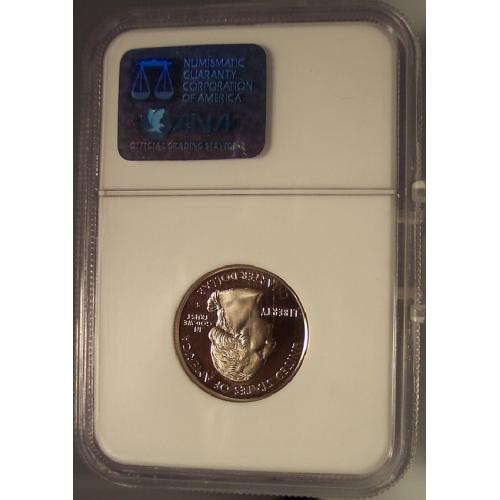 2002-S Clad Proof Mississippi State Quarter NGC PF 69 UC #G041