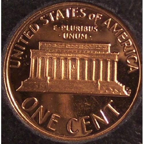 1978-S Proof Lincoln Memorial Penny Deep Cameo #1049